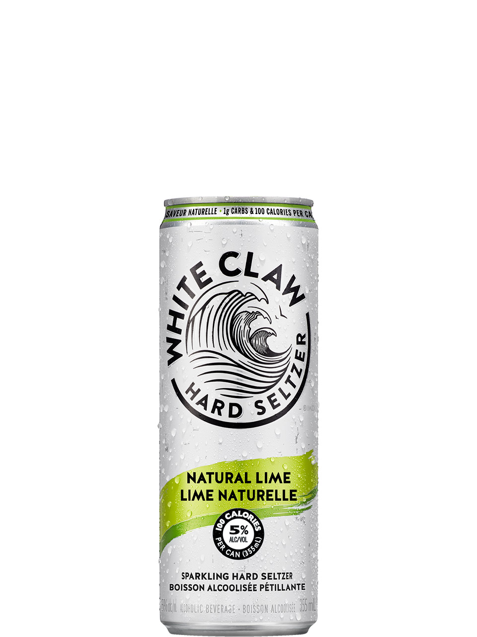 White Claw Natural Lime 6 Pack Cans
