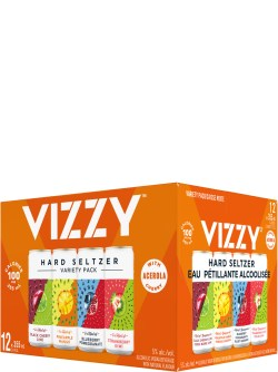Vizzy Hard Seltzer Variety 12 Pack Cans