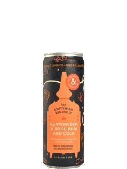 The NL Dis. Co Gunpowder & Rose Rum and Cola 4pk