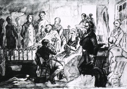 The Death of Abraham Lincoln