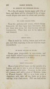Page 268 of Family receipts, or Practical guide for the husbandman and housewife.