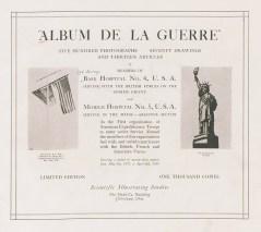 Title page of Album de la guerre.