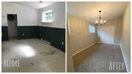 Master Bedroom - Before & After Renovations