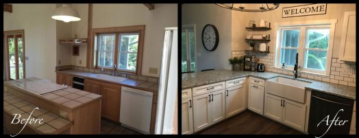 Kitchen - Before & After Renovations