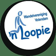 Klik hier voor de website van wandelvereniging 'n Loopie Volendam