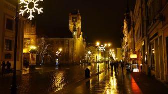 Toruń by Night