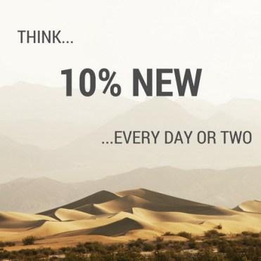 10% New