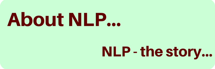 The history of NLP