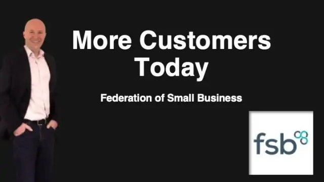 Free webinar More customers today