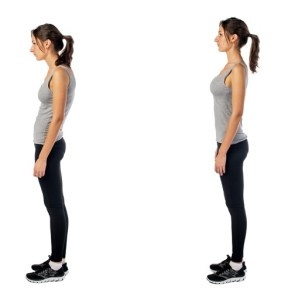 Good posture will make you look taller, slimmer and more confident