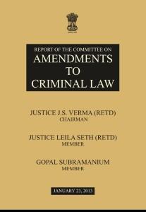 JUSTICE VERMA COMMITTEE REPORT IMAGE