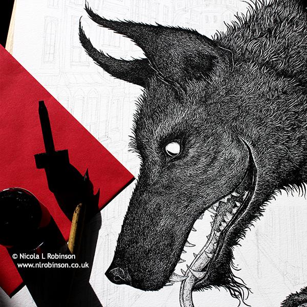 Year of the Dog © Nicola L Robinson www.nlrobinson.co.uk