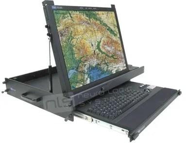RFT-20-2U-RAR-USB Rugged Display Products