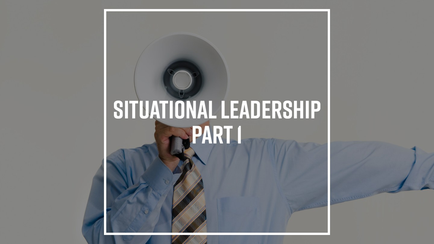 Cover image for blog post Situational Leadership Pt. 1 by Nick Vogel.