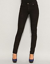 Tight Black Patched Jeans SEK 395, Cheap Monday - NELLY.COM
