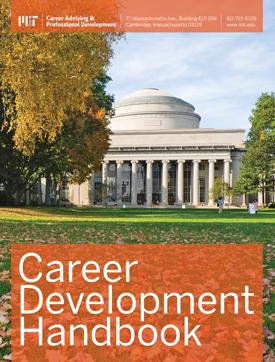 MIT's Career Development Handbook Cover