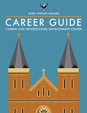 St. Vincent College Career Guide Cover