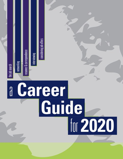 Cover of A Career Guide for 2020 by Nan Mellem Publishing.