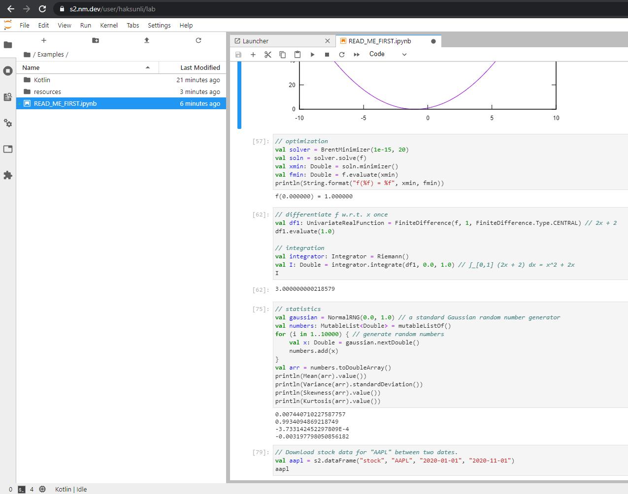 S2 data science