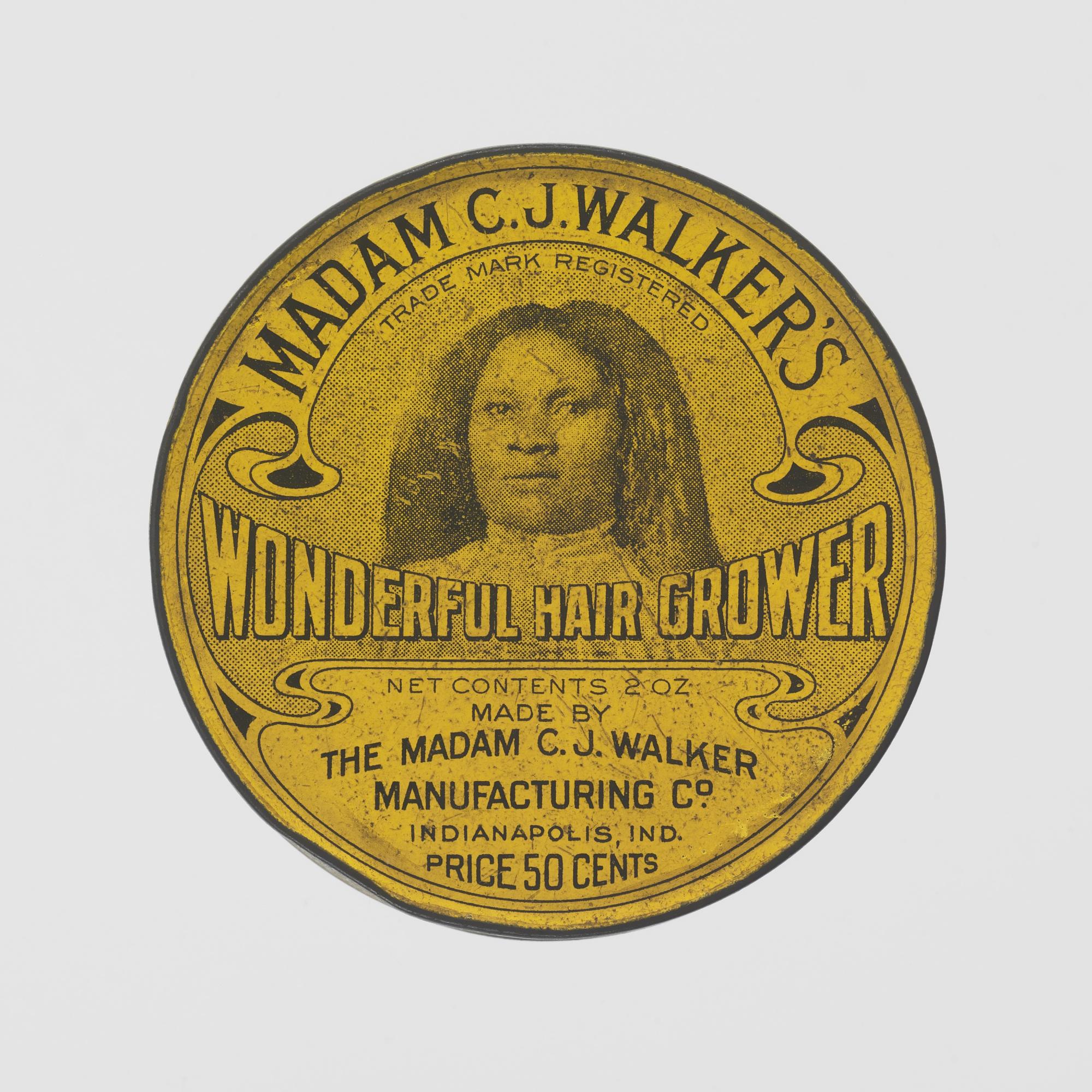 Madam C J Walker S Wonderful Hair Grower
