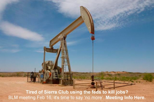 Sierra Club Killing More Jobs?  It's Up to You.