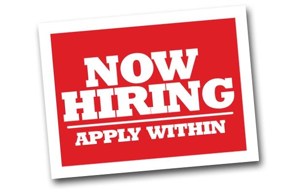Job Opening: $85,000 + Benefits