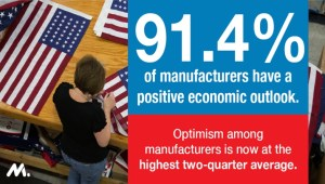 A positive economic outlook and growth expected…
