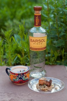 Street Food Institute paired with Barsol pisco