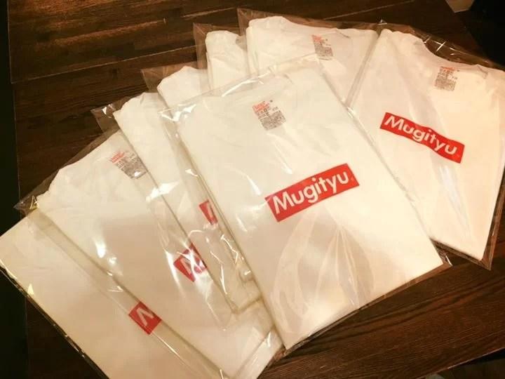 むぎちゅうtシャツ数量限定で発売致します❗️