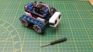 SMARS modular robot: Wir basteln uns einen Roboter!