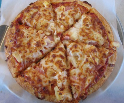 A Hawaiian Pizza