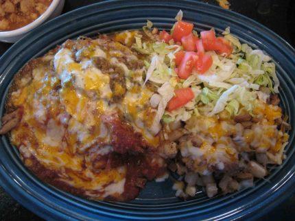 Enchiladas Christmas Style