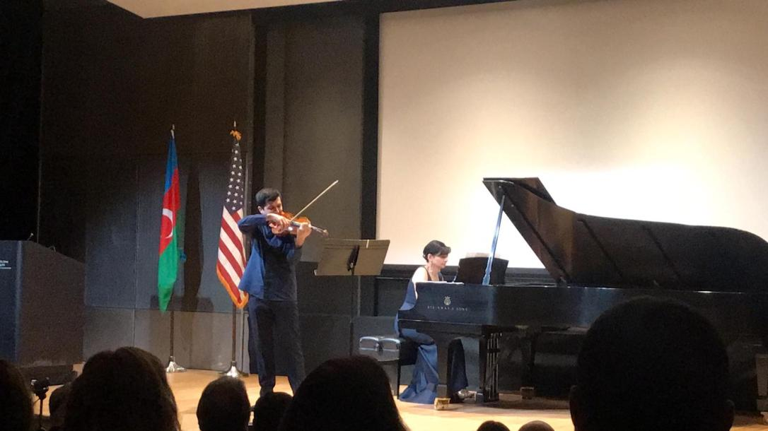 Photo of piano and violin