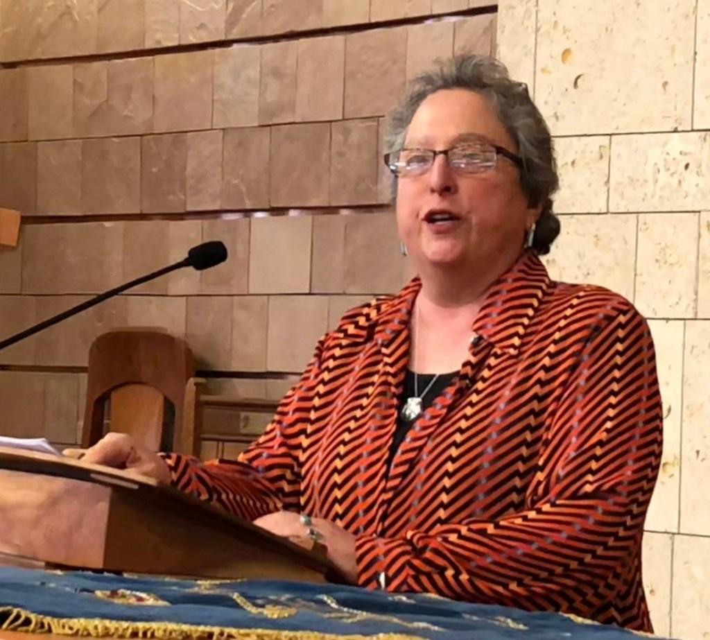 Deborah Brin speaking