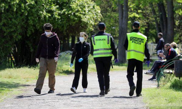 722 dënime për mosmbajtje të maskës