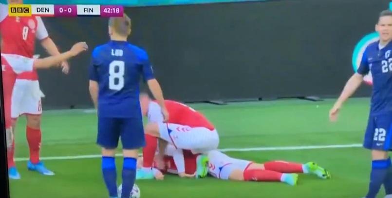 Momenti Dramatik, Futbollisti Eriksen Humb Ndjenjat (VIDEO)