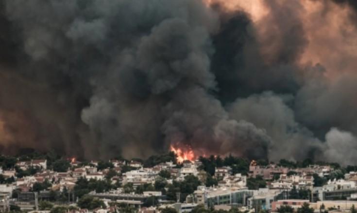 Në Greqi zjarr gjigant, autoritetet zbulojnë aktivitetin e rrallë në vatër