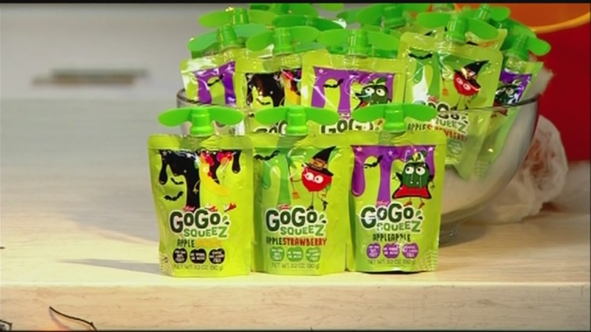 Find a healthy Halloween snack alternative with GoGo SqueeZ