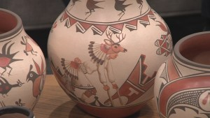 Shop for beautiful pottery at the Winter Indian Market
