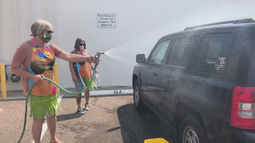 'Let Grandma Wash Your Car' while helping the Assitance League of Albuquerque