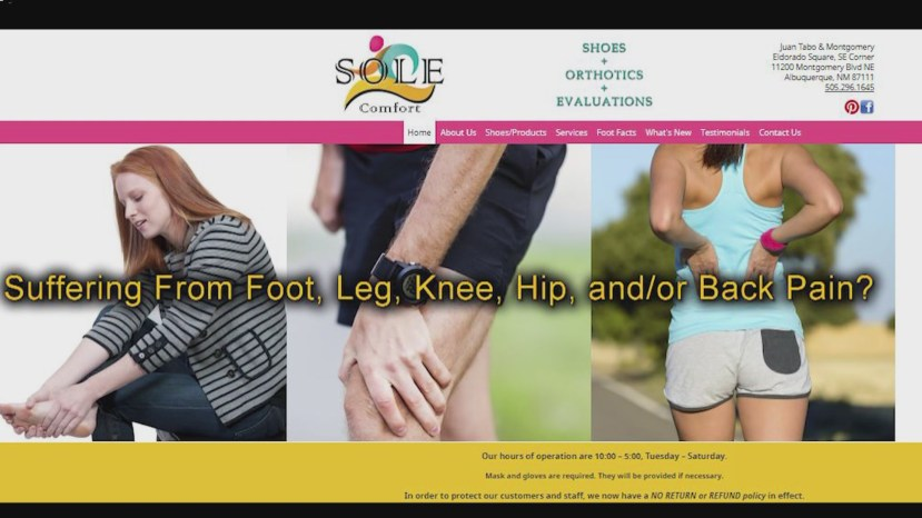 Sole Comfort wants to help relieve pain from the shoes we wear