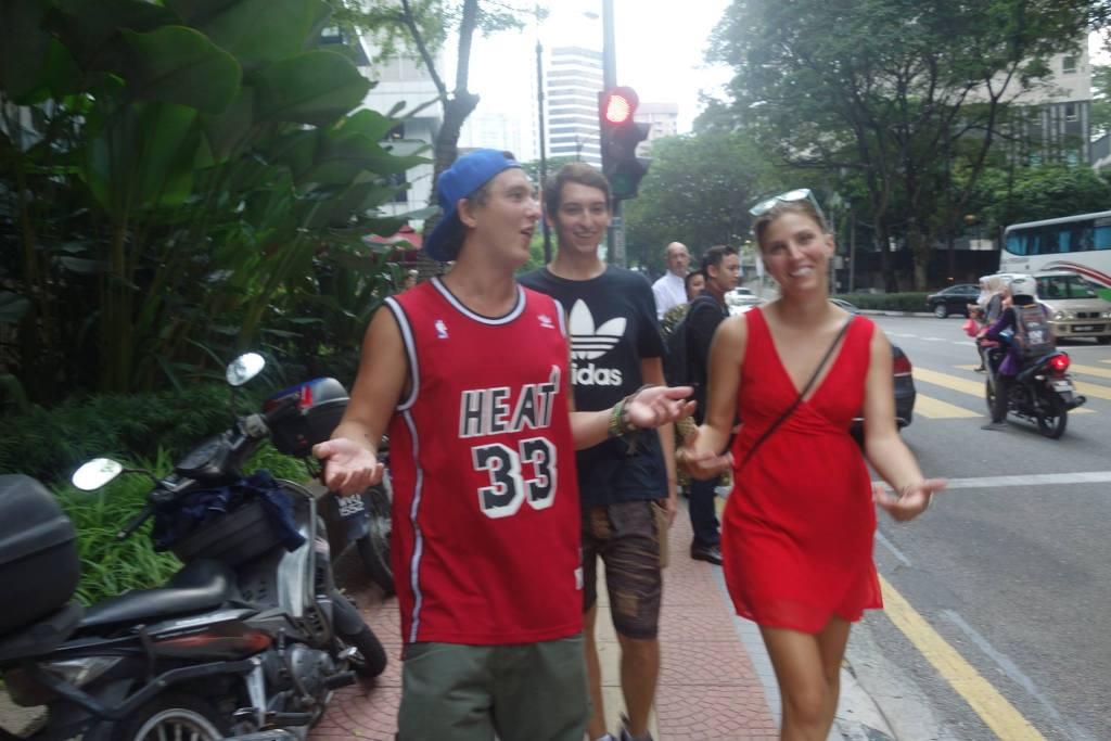 Walking in Malaysia
