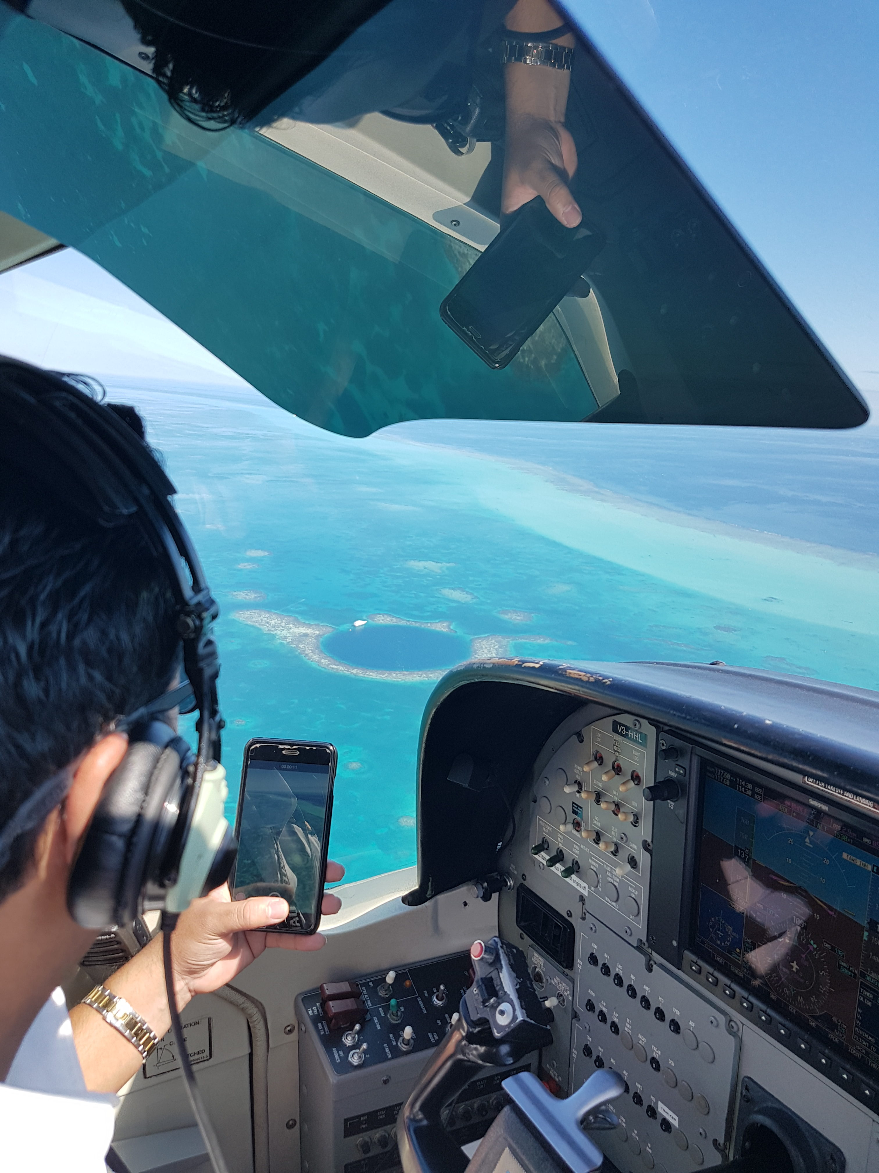 Pilot on social media