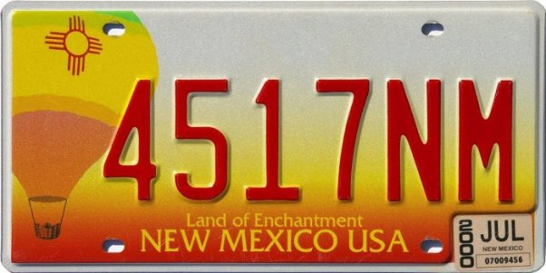 Image result for new mexico license plate balloon