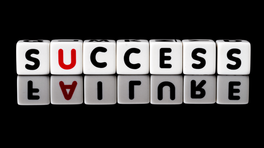 Failure contains success in it