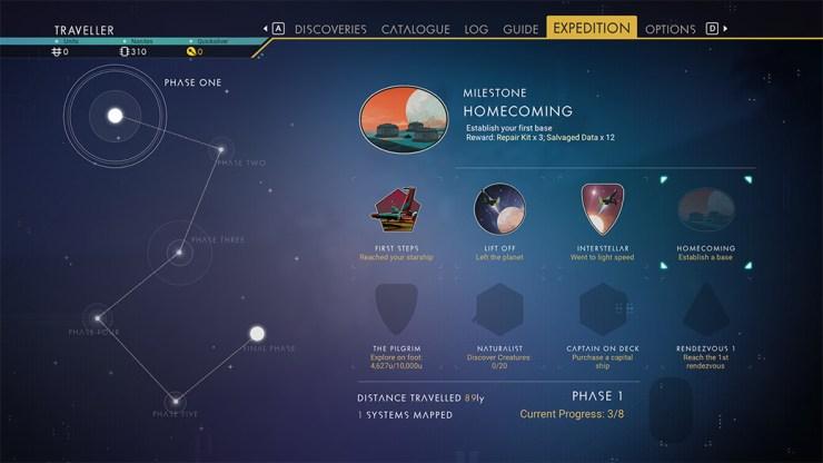 No Man's Sky expeditions, expediciones actualización 3.3