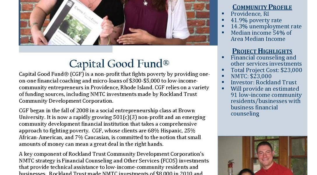Rhode Island Capital Good Fund