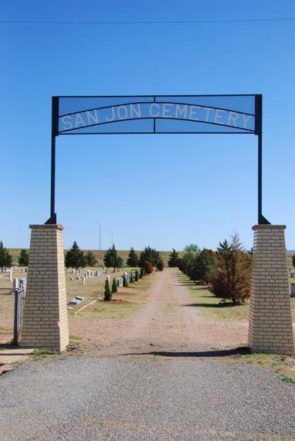 San Jon Cemetery, San Jon, Quay County, New Mexico