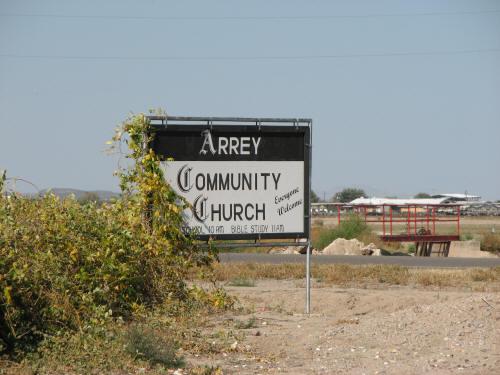 Arrey Community Church Cemetery, Sierra County, New Mexico