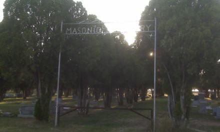 Masonic Hagerman Cemetery, Hagerman, New Mexico